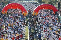 Marine Corp Marathon Starting Gates