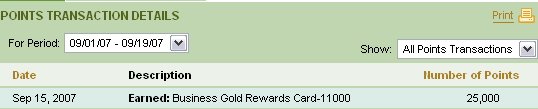 american express bonus rewards points