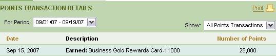 american express bonus rewards points