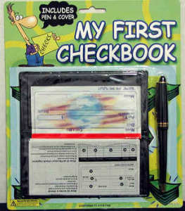 My First Checkbook